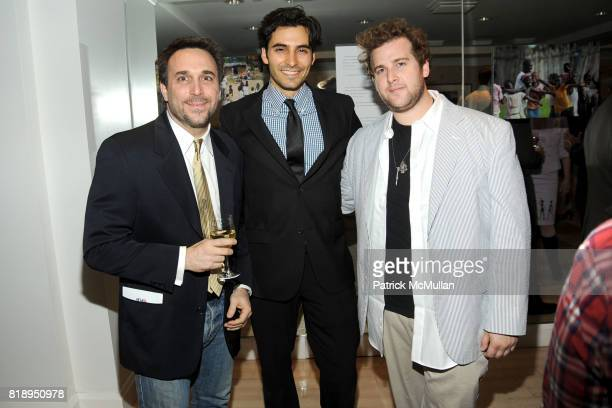 Bill Diodato Jason Rogers and Spencer Rudin attend RIGHT TO PLAY 'En Garde' Charity Cocktail Party at Barneys New York on May 13 2010 in New York City