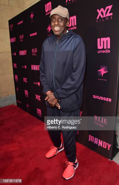 Bill Duke attends the Los Angeles Special Screening And QA Of Mandy At Beyond Fest at the Egyptian Theatre on September 11 2018 in Hollywood...