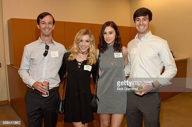 Bill Eakin Savvy Burhoe Mandy Burhoe and Rob Eakin attend the 24th Annual CAA BBQ at CAA Nashville on June 6 2016 in Nashville Tennessee