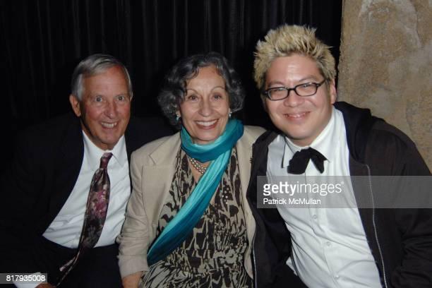Bill Early Karen Early and Thomas Lauderdale attend Pink Martini at the Hollywood Bowl After Party Hosted by Paper Magazine at Teddy's at the...