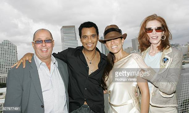 Bill Edwards CEO Big3 Entertainment OkieDokie Management Jon Secada Maritere Secada and Mary Ann Pascal President of Big3 Entertainment