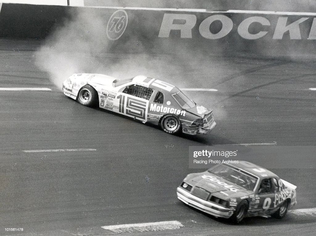 Bill Elliott avoids Ricky Rudd and goes on to win the Coca-Cola 500. Elliott would take home $59,800 for the victory.