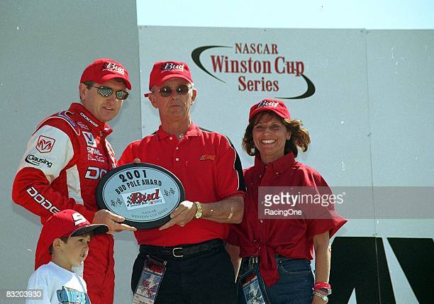 Bill Elliott wowed the racing world by putting his new Dodge on the pole for the 2001 Daytona 500 in the team's first outing