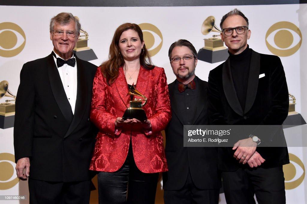 61st Annual GRAMMY Awards - Press Room : News Photo