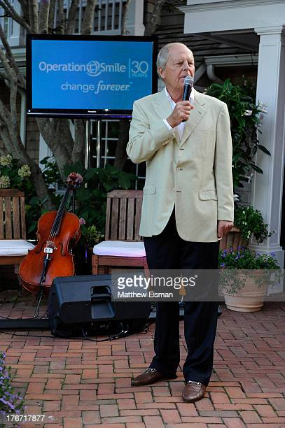Bill Finneran attends THE SMILE EVENT 2013 benefiting Operation Smile on August 17 2013 in Southampton New York