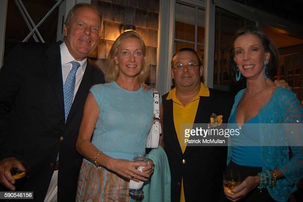 Bill Finneran Elsie Nelson Steven Stollman and Wendy Vanderbilt Lehman attend Frances Hayward Dinner in Celebration of The American Associates of The...
