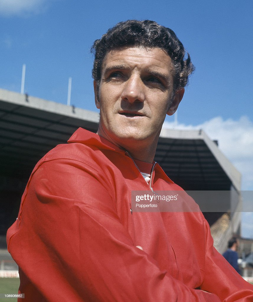 Bill Foulkes of Manchester United at Old Trafford, Manchester in August 1970.