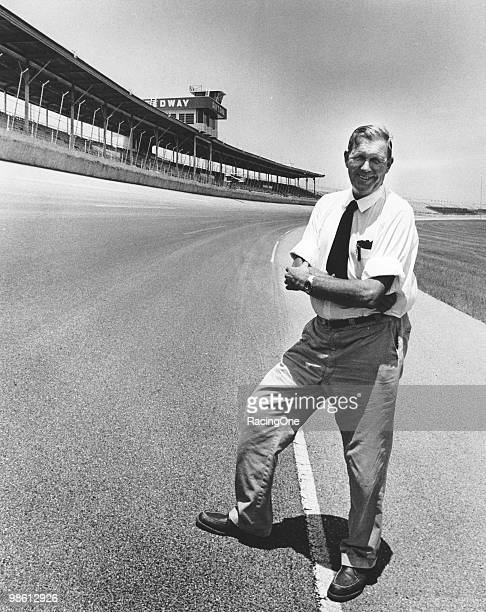 Bill France Sr at his pride and joy Daytona International Speedway