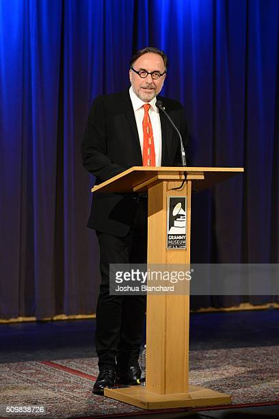 Bill Freimuth attends the Technical GRAMMY Ceremony for The 58th GRAMMY Awards at The GRAMMY Museum on February 12 2016 in Los Angeles California