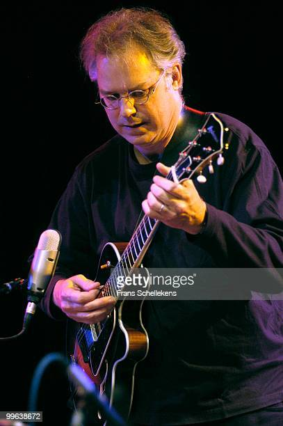 Bill Frisell performs live on stage at Bimhuis in amsterdam, Netherlands on October 19 2002