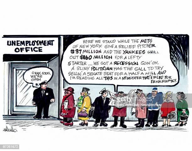 Bill Gallo cartoon for December 11 2008 GO FIGURE