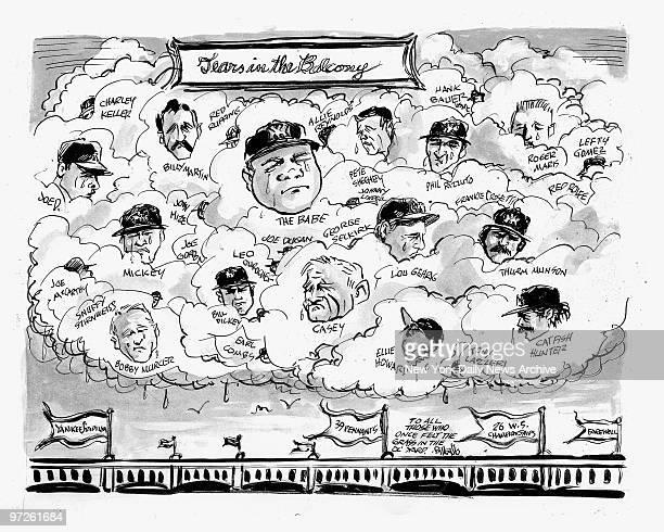 Bill Gallo cartoon for Sunday 9/21/2008 TEARS IN THE BALCONY
