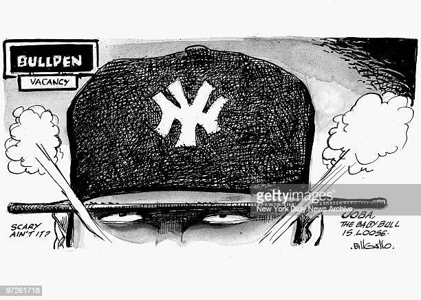 Bill Gallo sports cartoon for 5/30/2008 YANKEE PITCHING HOW'S THIS FOR STARTERS
