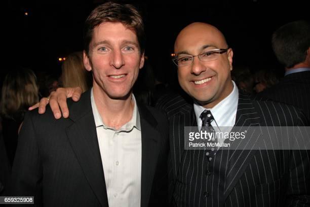 Bill Galvin and Ali Velshi attends HLN's Joy Behar Show Launch at The Oak Room on September 23 2009 in New York City