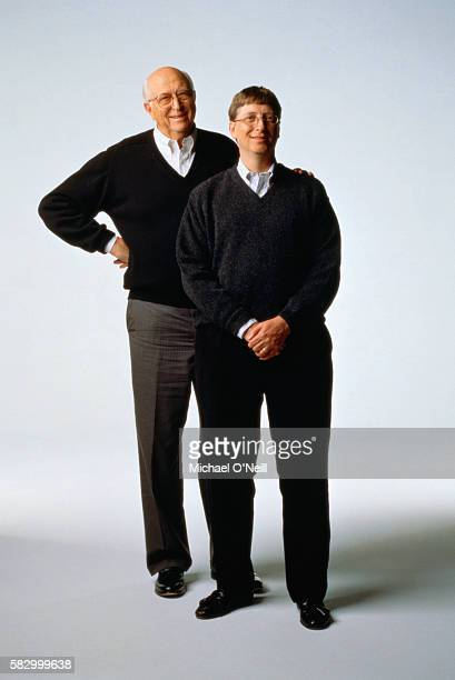 Bill Gates and Bill Gates, Sr