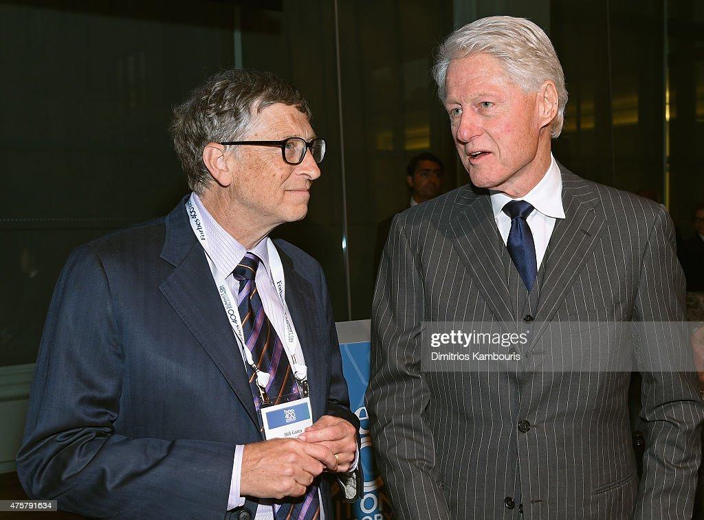 Forbes' 2015 Philanthropy Summit Awards Dinner : News Photo