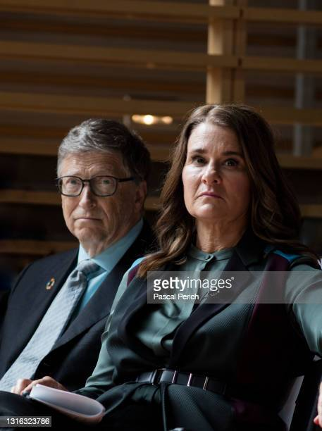 Bill Gates and Melinda Gates are photographed at the 2017 GoalKeepers on September 20, 2017 in New York, New York.