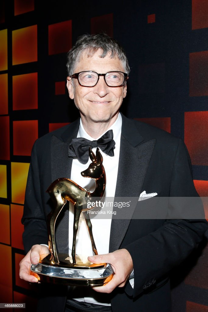 Bill Gates attends the Bambi Awards 2013 at Stage Theater on November 14, 2013 in Berlin, Germany.