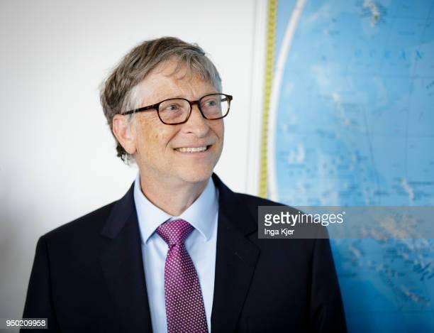 Bill Gates, captured on April 19, 2018 in Berlin , Germany.