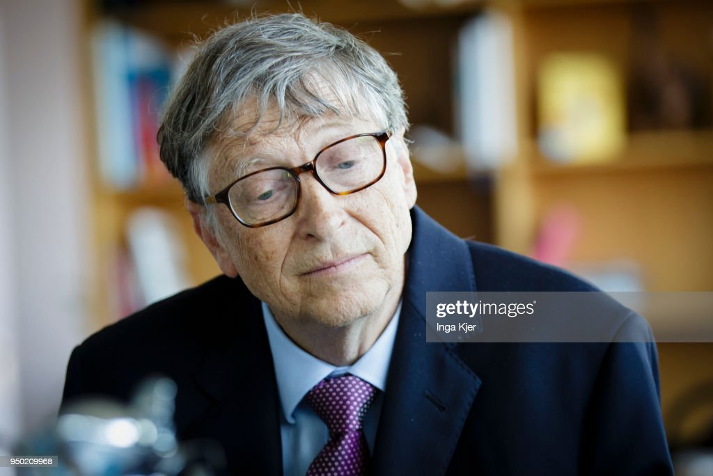 Bill Gates... : News Photo