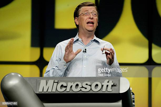 Bill Gates Chairman and Chief Software Architect for Microsoft Corporation is the keynote speaker at Microsoft's Professional Developers Conference...