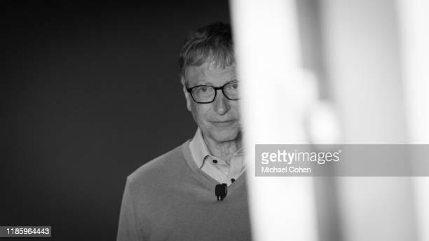 Bill Gates CoChair Bill Melinda Gates Foundation speaks at 2019 New York Times Dealbook on November 06 2019 in New York City