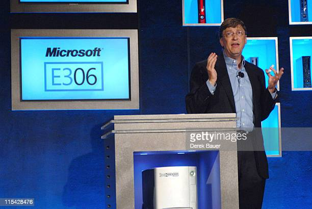 Bill Gates during Bill Gates Speaks during Microsoft's E3 Press Conference at The Grauman's Chinese Theatre at Grauman's Chinese Theater in Hollywood...