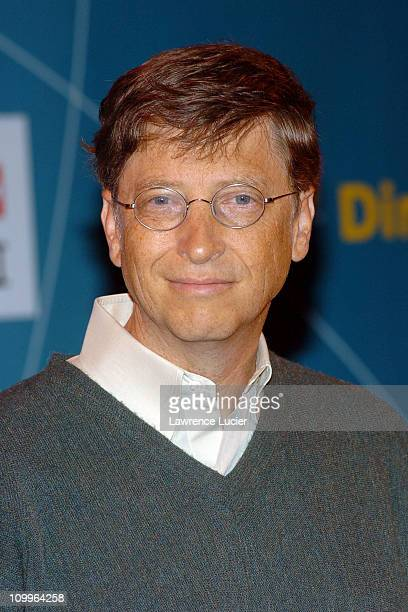 Bill Gates during Swatch and Microsoft Announce New Swatch Watch Line Paparazzi at The Supper Club in New York New York United States
