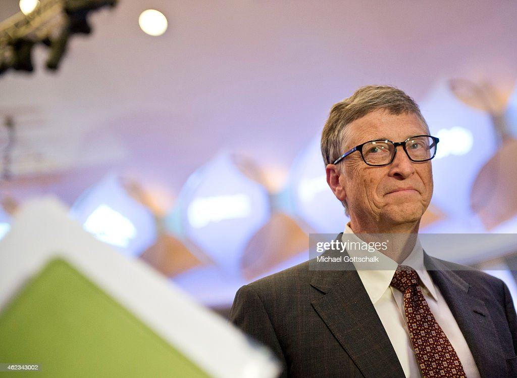 Bill Gates... : News Photo