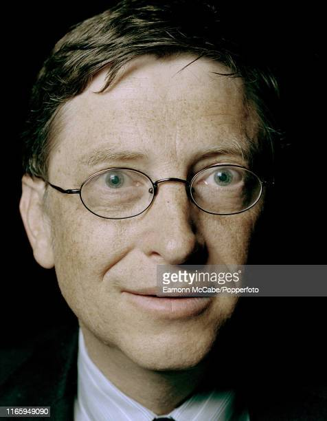 Bill Gates, founder of Microsoft, circa January 2004. Gates founded Microsoft in 1975 with Paul Allen, and it went on to become the worlds largest...