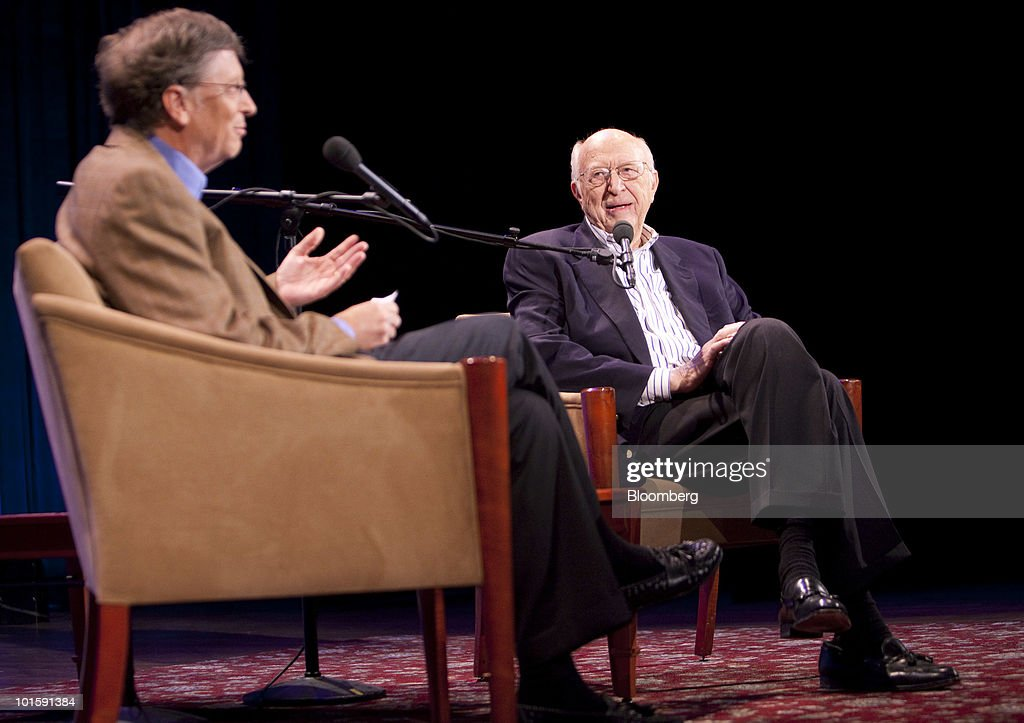 Bill Gates: A Conversation With My Father : News Photo