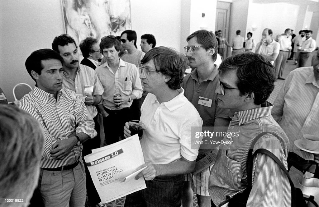 Gates At The 1989 PC Forum : News Photo
