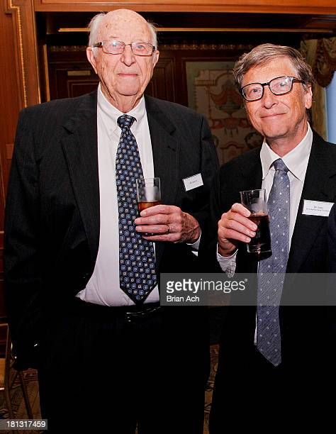 Bill Gates Sr. And Bill Gates are seen during the The Lasker Awards 2013 on September 20, 2013 in New York City.