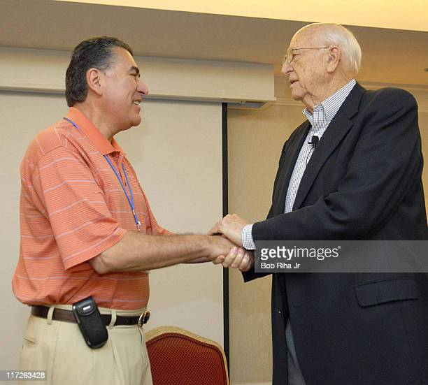 Bill Gates Sr. And Richard D. Cordova during Bill Gates Sr. At the Childrens Hospital in Indian Wells, California at Childrens Hospital in Indian...