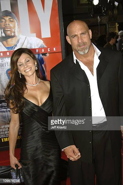 Bill Goldberg and guest during The Longest Yard Los Angeles Premiere Arrivals at Grauman's Chinese Theater in Hollywood California United States