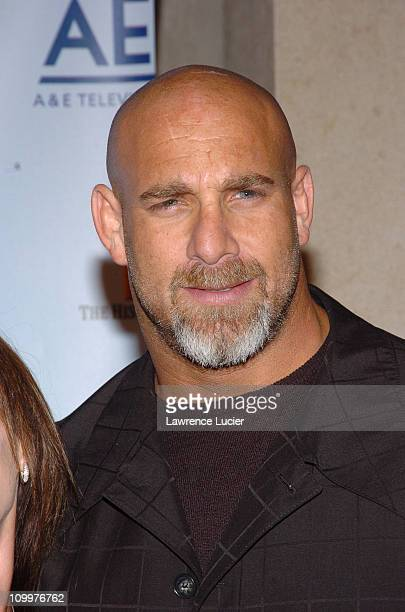 Bill Goldberg during 2005/2006 AE Television Networks UpFront at Rockefeller Center in New York City New York United States