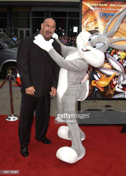 Bill Goldberg during The World Premiere of 'Looney Tunes Back in Action' at Grauman's Chinese Theater in Hollywood California United States