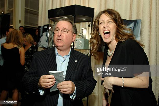 Bill Gould and Joely Fisher during Kwiat/Kodak Oscar Suite Cocktail Party at Four Seasons Wetherly Suite in Beverly Hills CA United States