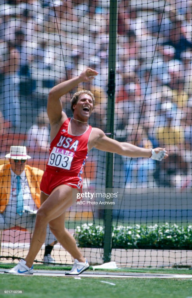Men's Hammer Throw Competition At The 1984 Summer Olympics : Foto di attualità