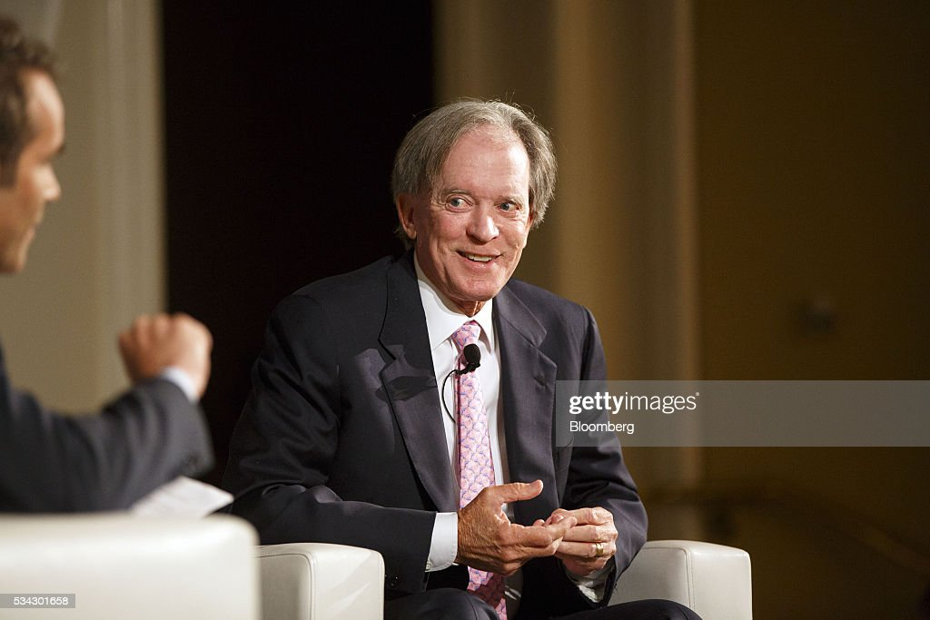 PIMCO Co-Founder Bill Gross Speaks At The Bloomberg FI16 Event