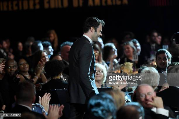 Bill Hader accepts Comedy Series for 'Barry' during the 72nd Annual Directors Guild Of America Awards at The Ritz Carlton on January 25 2020 in Los...