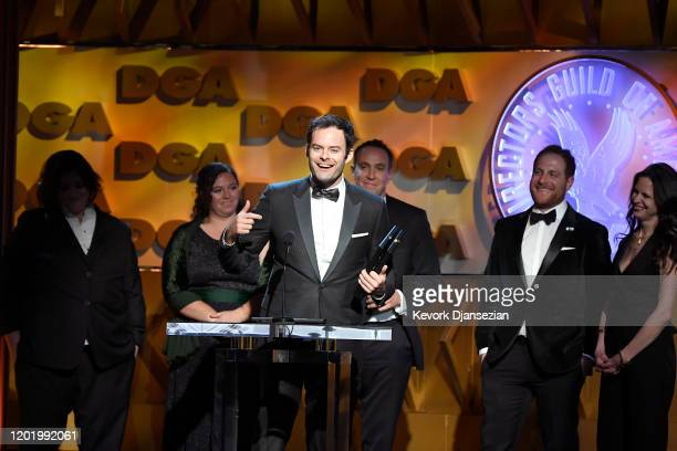 Bill Hader accepts Comedy Series for 'Barry' onstage during the 72nd Annual Directors Guild Of America Awards at The Ritz Carlton on January 25 2020...