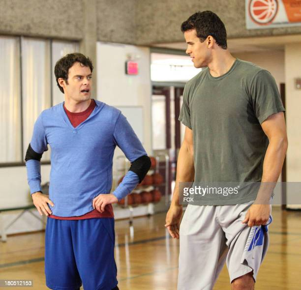 Bill Hader and Kris Humphries in the 'The Other Dr L' episode of THE MINDY PROJECT airing Tuesday Sept 24 on FOX