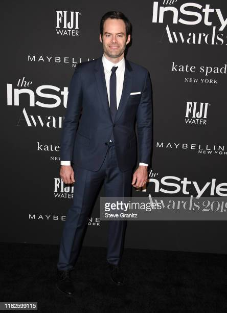 Bill Hader arrives at the 2019 InStyle Awards at The Getty Center on October 21 2019 in Los Angeles California