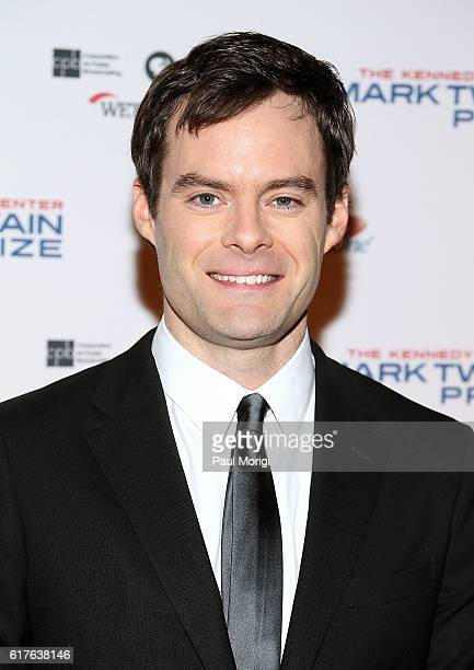 Bill Hader arrives to The Kennedy Center Mark Twain Prize Honors Bill Murray event at The Kennedy Center on October 23 2016 in Washington DC