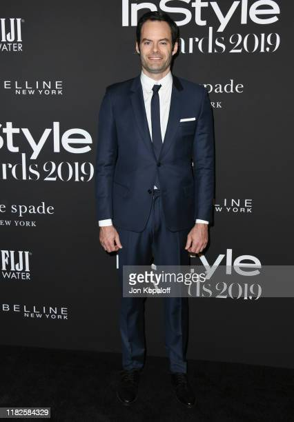 Bill Hader attends the 2019 InStyle Awards at The Getty Center on October 21 2019 in Los Angeles California