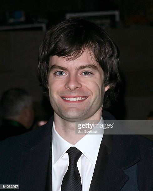 Bill Hader attends the 24th Annual Museum of the Moving Image's salute to Ben Stiller at Cipriani on 42nd Street on November 12 2008 in New York City