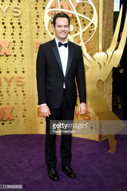 Bill Hader attends the 71st Emmy Awards at Microsoft Theater on September 22 2019 in Los Angeles California