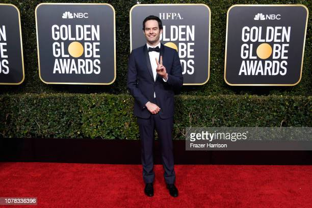 Bill Hader attends the 76th Annual Golden Globe Awards at The Beverly Hilton Hotel on January 6 2019 in Beverly Hills California