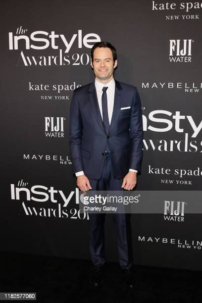 Bill Hader attends the Fifth Annual InStyle Awards with FIJI Water on October 21 2019 in Los Angeles California